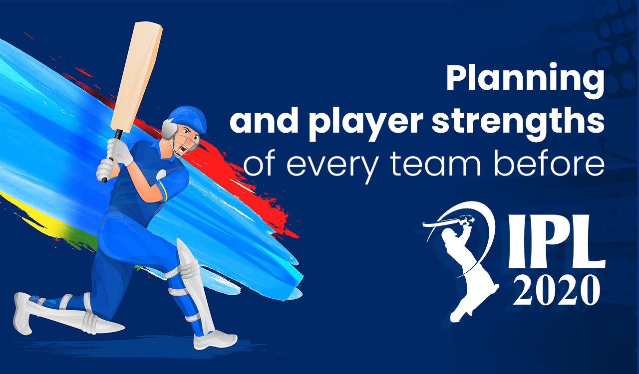 Planning and player strengths of every team before IPL 2020