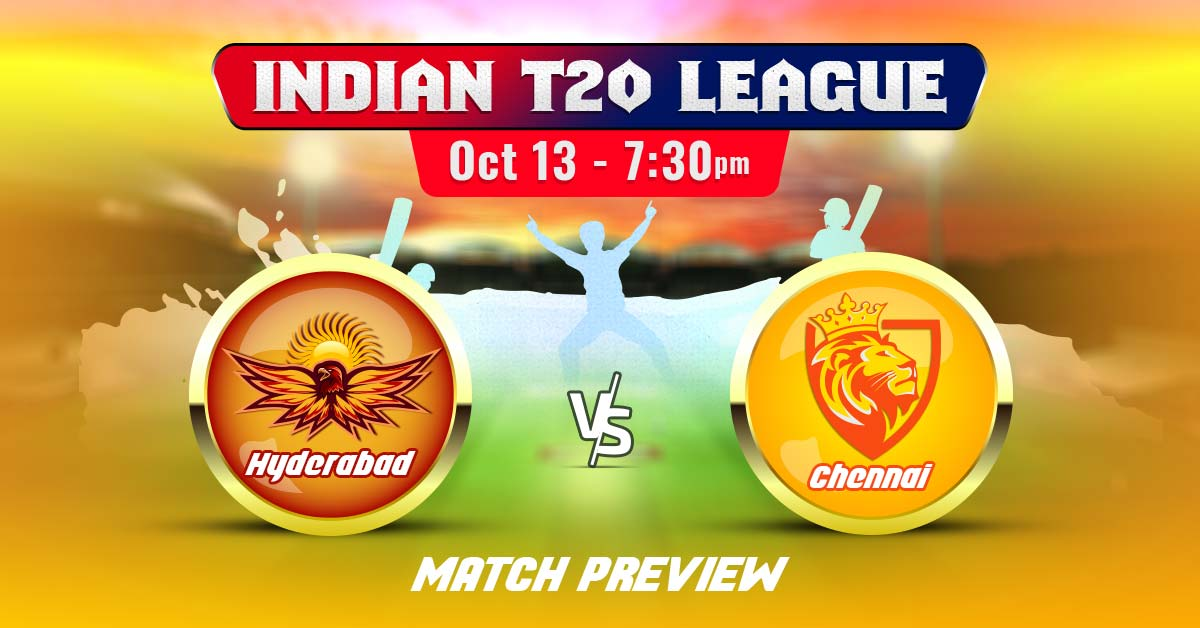 Chennai vs Hyderabad Match Preview, Prediction, Indian T20 League 2020